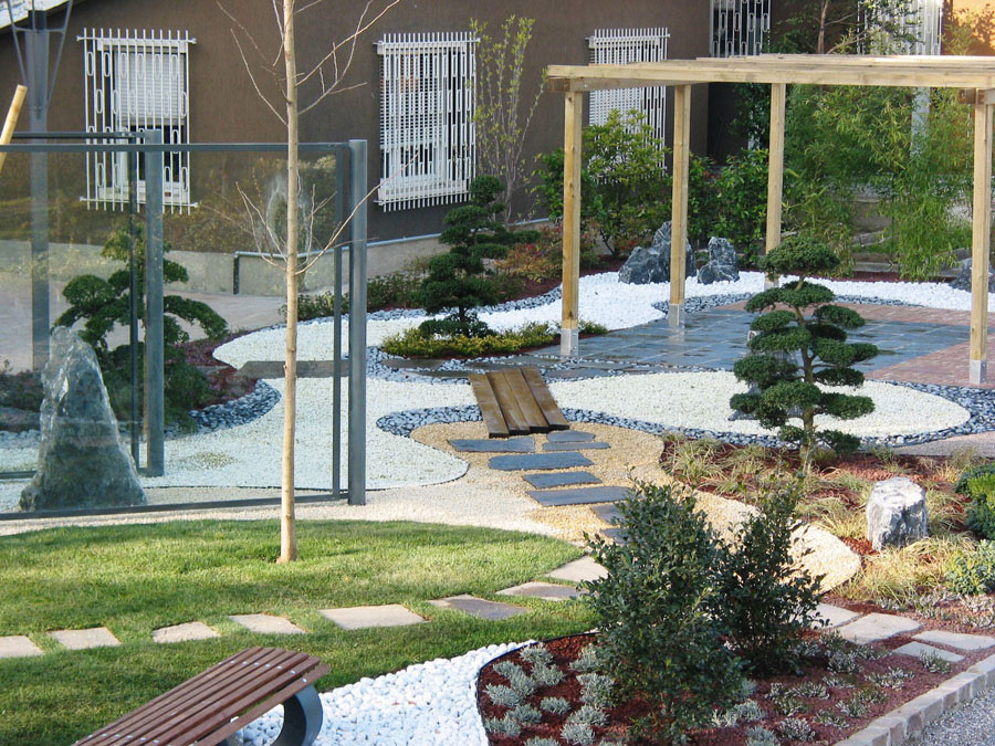 Giardino Zen Berlino : Peverelli design construction and maintenance of green