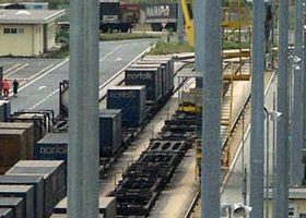 intermodal transport hupac Busto Arsizio